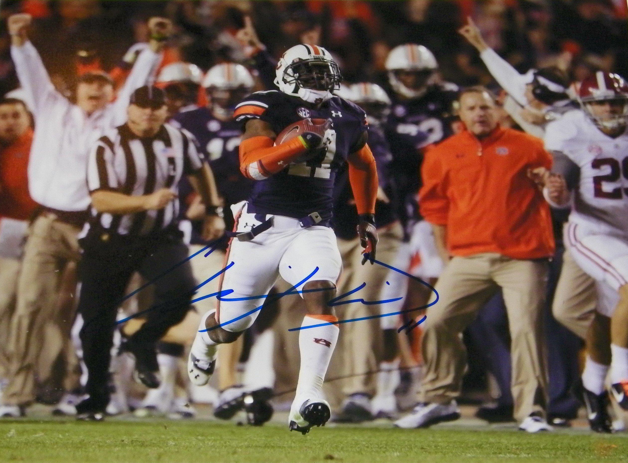 Chris Davis Signed Autographed Auto Auburn Tigers 2013 Iron Bowl 8x10 Photo Proof