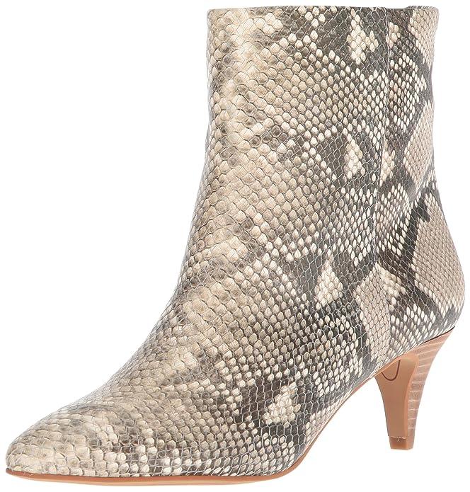 Dolce Vita Women's Deedee Ankle Boot, Dark Saddle Suede, 8.5 M US