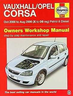 Haynes vauxhall vectra workshop repair manual amazon car vauxhallopel corsa service and repair manual 2000 2006 haynes service and fandeluxe Choice Image