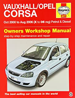 vauxhall opel corsa service and repair manual 1997 to 2000 haynes rh amazon co uk opel tigra workshop manual opel vauxhall corsa repair manual