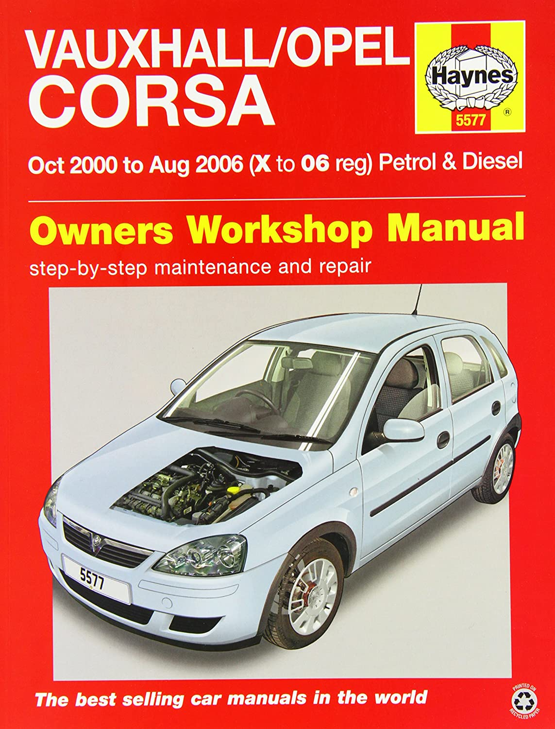 Vauxhall/Opel Corsa Service and Repair Manual: 2000-2006 (Haynes Service  and Repair Manuals): A. K. Legg, Peter T. Gill, John S. Mead: Amazon.co.uk:  Car & ...