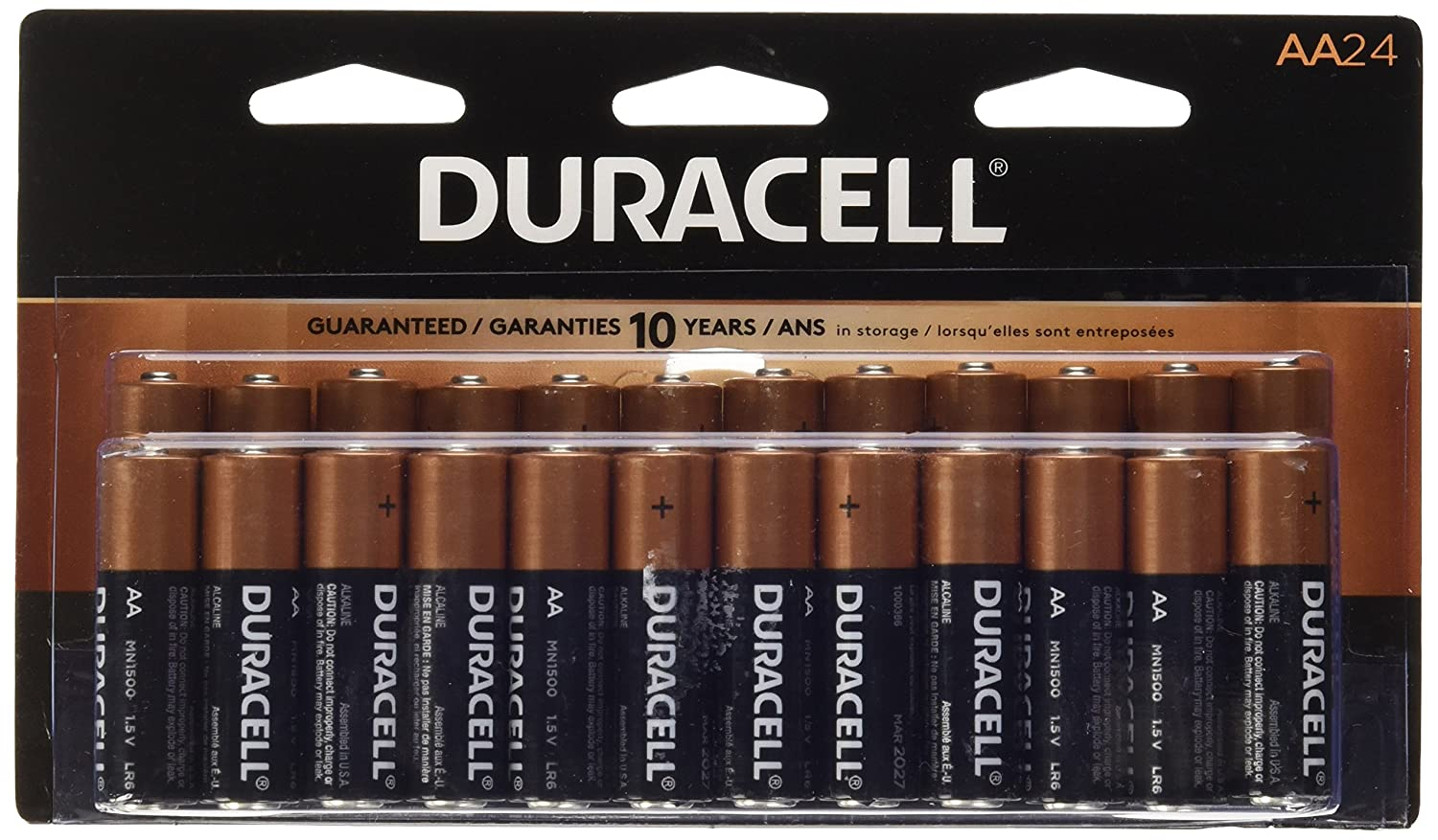 Duracell Coppertop Aa Alkaline Batteries 24 Count Ebay