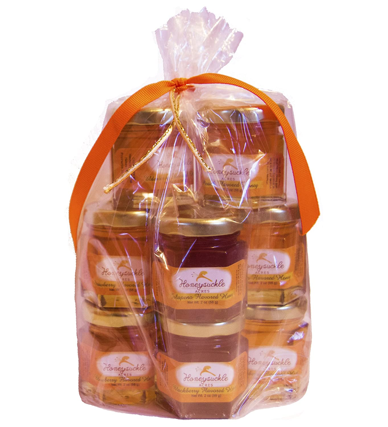Sample Honey Gift Set - Organically Infused- 10 Pack (Net Wt 2 Oz Each)