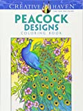 Peacock Designs Coloring Book