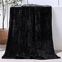 Whale Flotilla Flannel Fleece Throw Size(50x60 Inch) Lightweight Throw Blanket for Couch, Soft Velvet Throw Plush Fluffy…