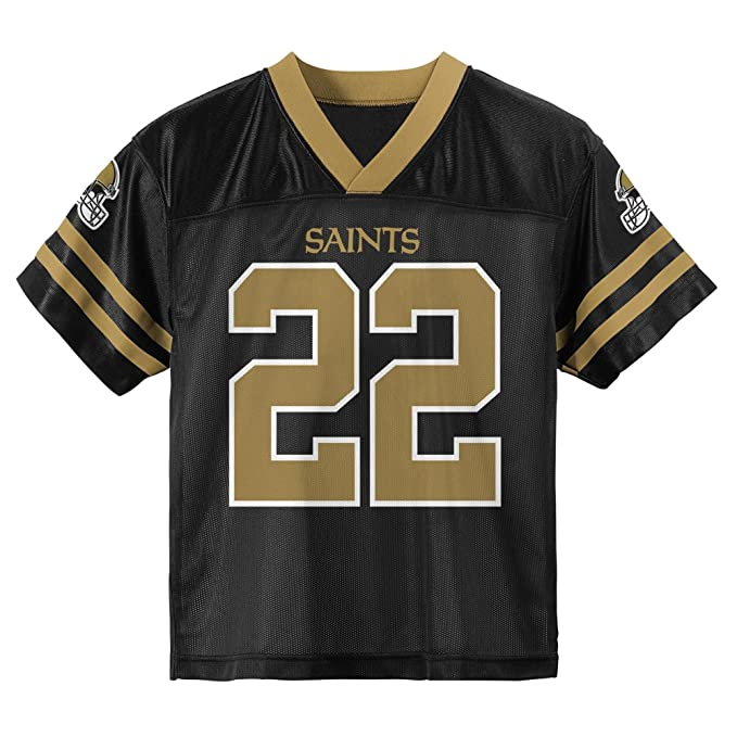 quality design 28ec9 90227 Outerstuff Mark Ingram New Orleans Saints Black Toddler Player Home Jersey