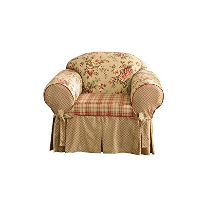 Sure Fit Lexington   Chair Slipcover   Multi (SF28417)