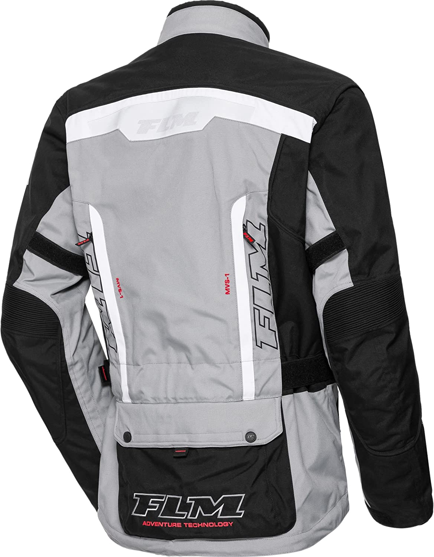 Ganzj/ährig FLM Motorradjacke mit Protektoren Motorrad Jacke Reise Textiljacke 1.0 Tourer Herren