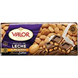 Chocolates Valor - Choholate con y Marconas Enteras - 250 g