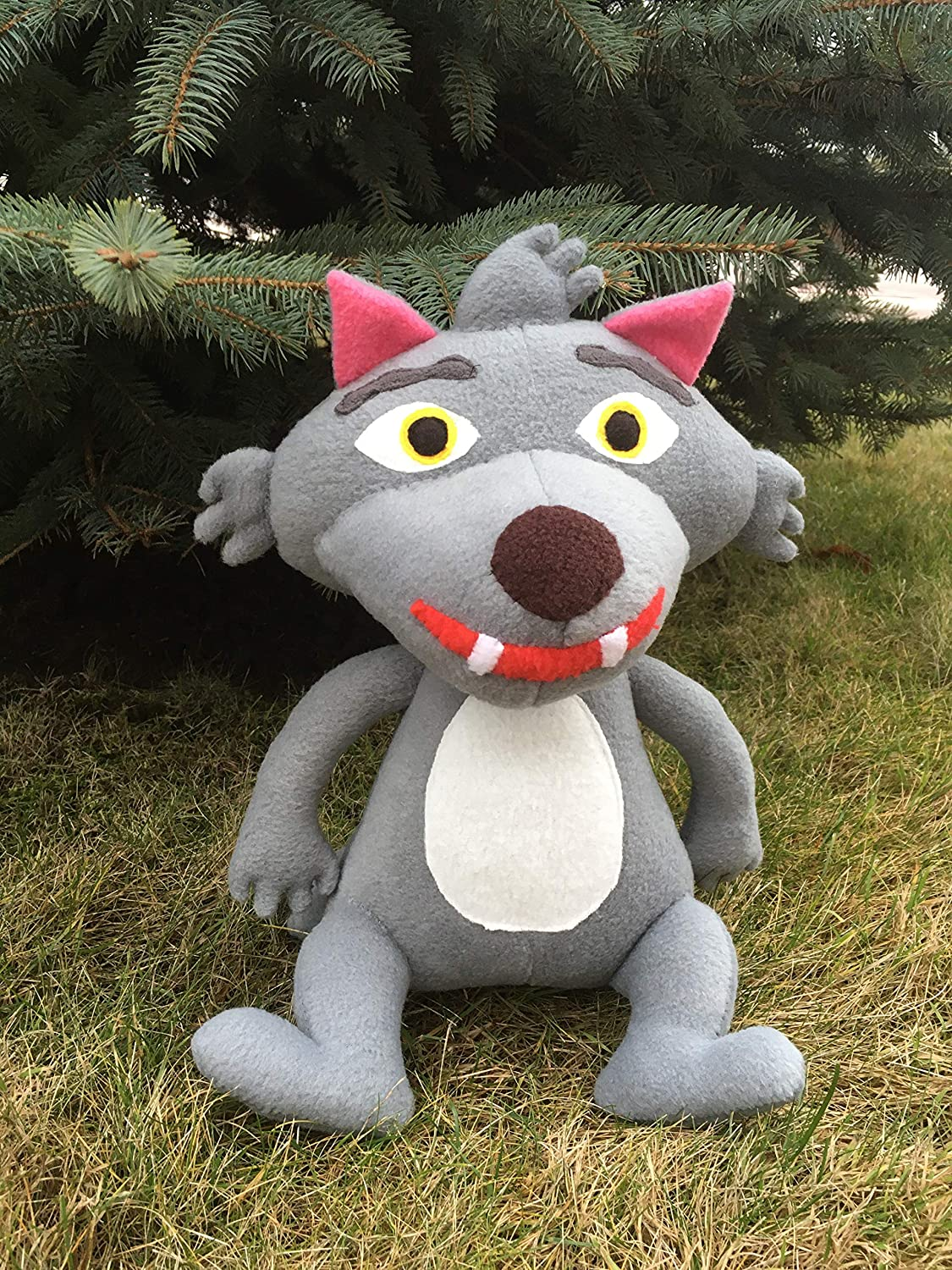 Cocomelon wolf soft toy