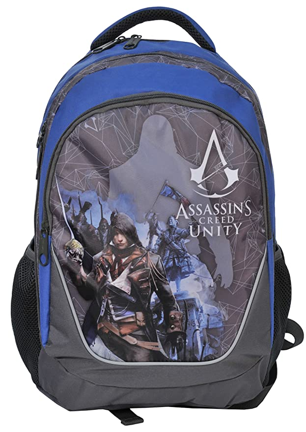 Paso Assassin s Mochila Assassins Creed Mochila Escolar Gamer ACA de 367: Amazon.es: Juguetes y juegos