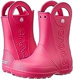 Crocs Kids' Handle It Rain Boots, Easy On for