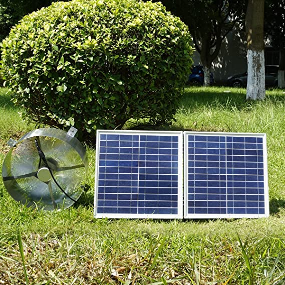 ECO-WORTHY 25W energía Solar Attic accesspanelsuk advpro/Panel Solar (30 W politainer Panel Solar): Amazon.es: Electrónica