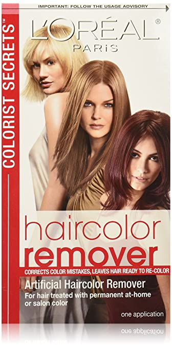 L'Oreal Paris Colorist Secrets Haircolor Remover Hair Treatment Review
