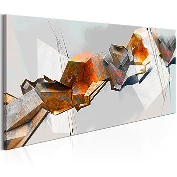 Murando Bilder Abstrakt 70x35 Cm   Vlies Leinwandbild   1 Teilig    Kunstdruck   Modern