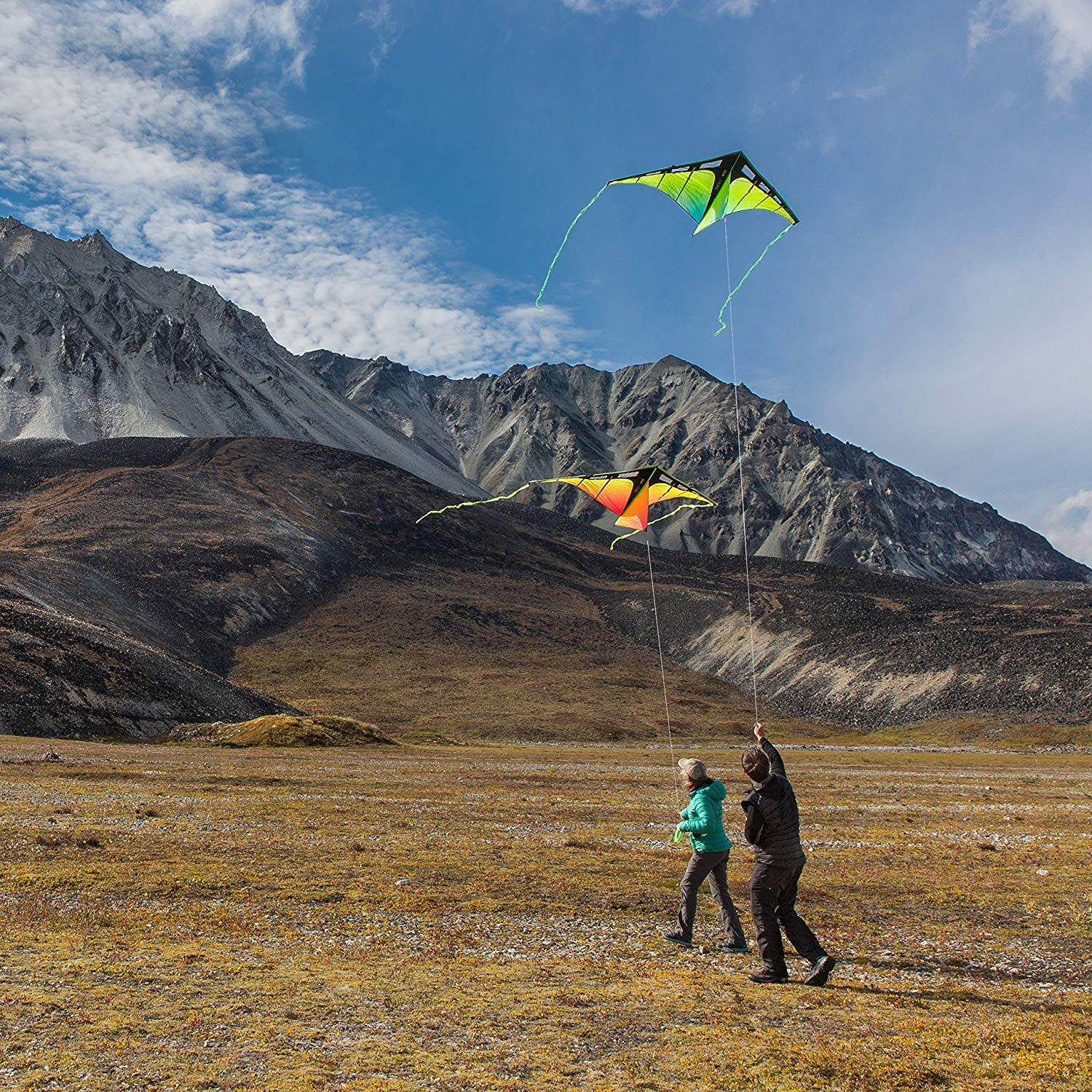 Prism Kite Technology Zenith 7 Infrared Single Line Kite, Ready to Fly with line, Winder and Travel Sleeve by Prism Kite Technology (Image #4)