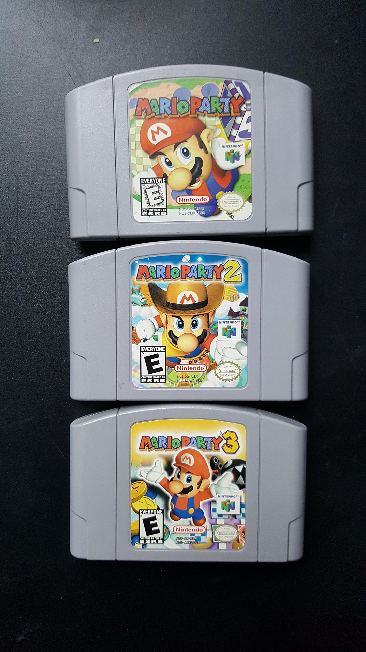 Amazon com: Complete Mario Party Nintendo 64 Collection