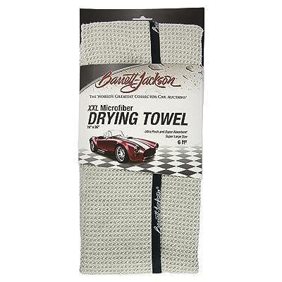 "Barrett-Jackson Microfiber Waffle Weave XXL Drying Towel 420gsm 24"" x 36"": Automotive"