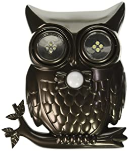 Decorative LED Motion Sensor Hooting Owl Light