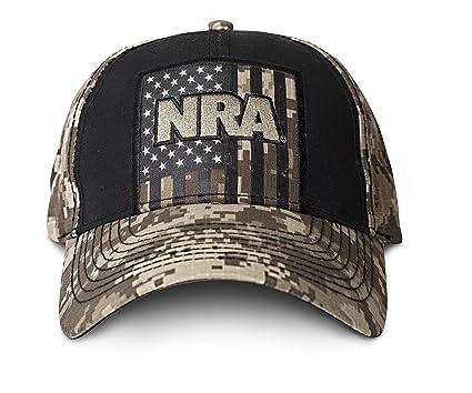 03925a6032f Amazon.com  NRA-Tan Digi Hat  Sports   Outdoors