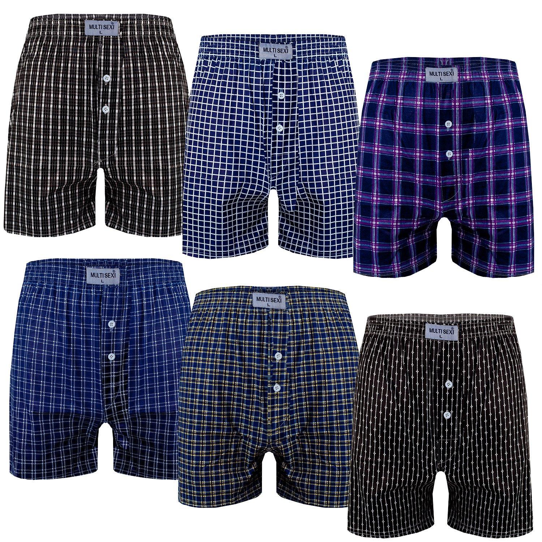 6er Damen Panties Hipster Panty Hotpants Boxershorts Unterhose Baumwollmix