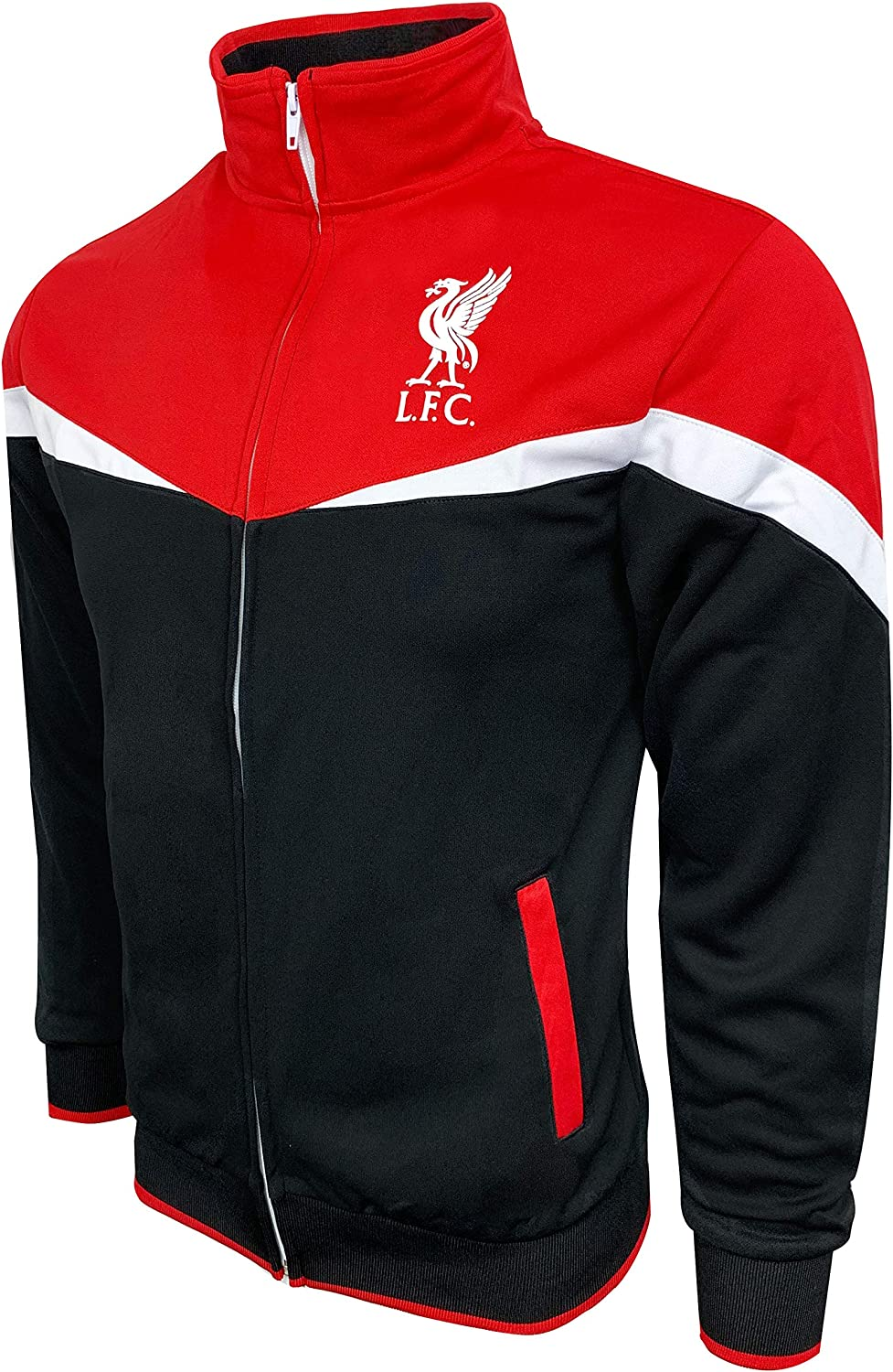 Icon Sports Liverpool FC Track Jacket For Boys And Adults