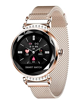 Synmila 【2019 New Watch Fitness Tracker Smart Watch: Heart Rate Blood Pressure Tracking Device Step Calorie Counter Pedometer Sleep Monitor Waterproof ...