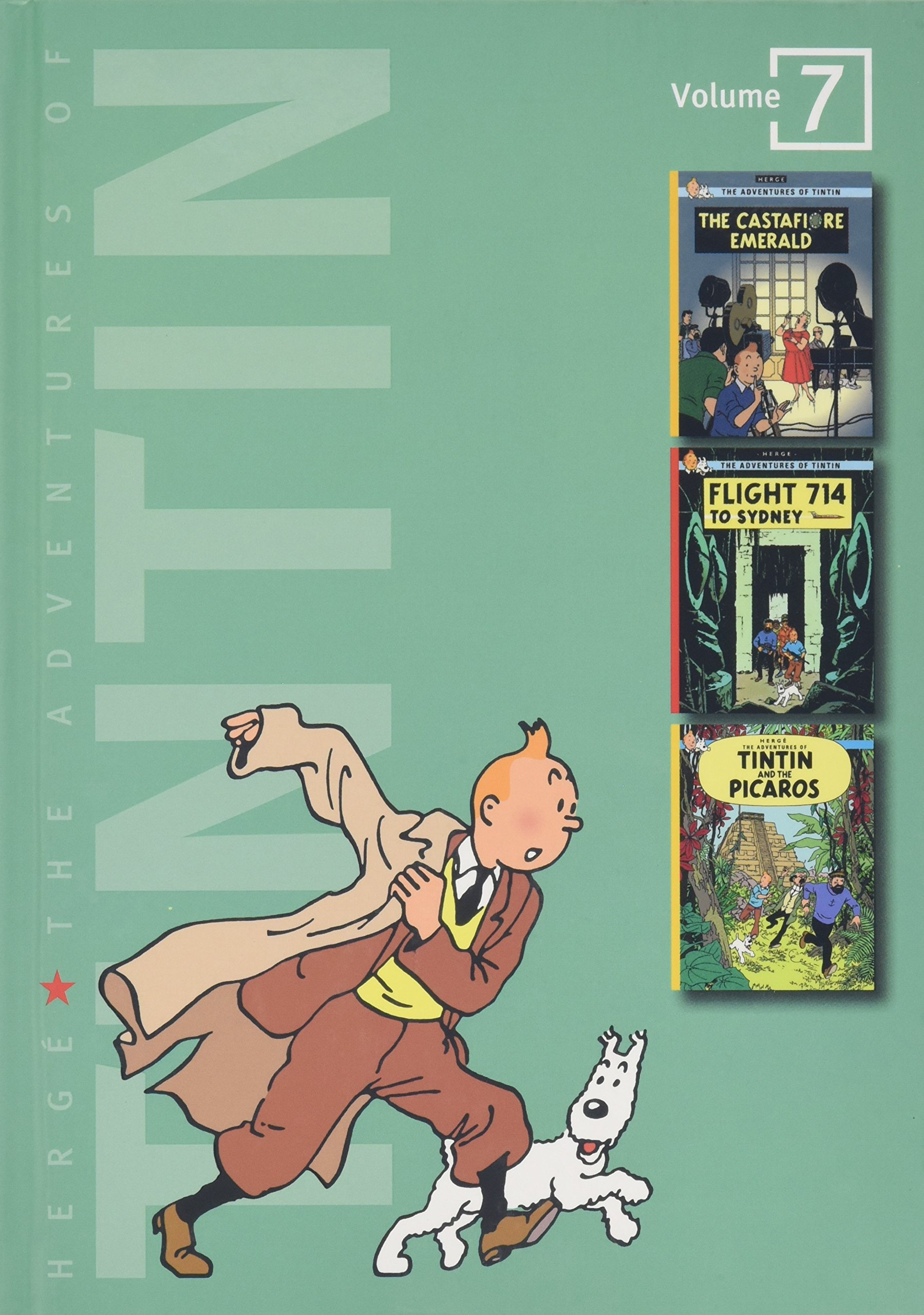 Image result for the adventures of tintin volume 7 amazon
