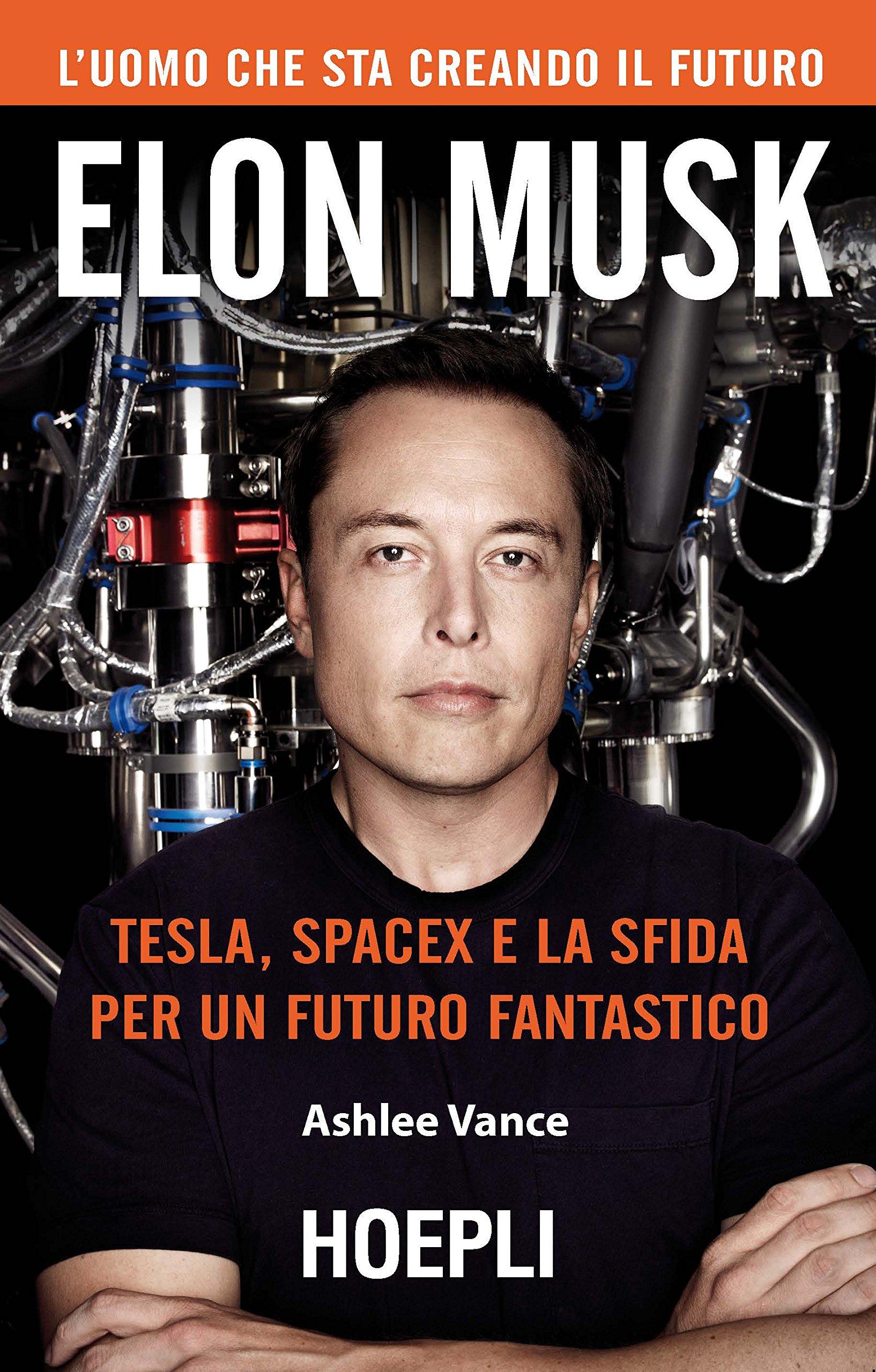 Copertina Libro Elon Musk