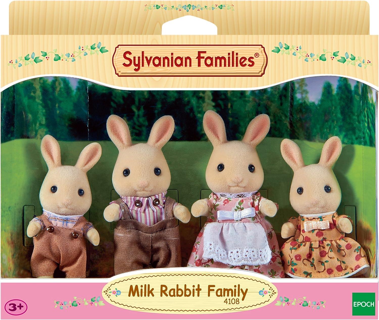 Sylvanian Families Milchhasen Familie M/ümmelmann