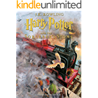 Harry Potter and the Sorcerer's Stone: Illustrated [Kindle in Motion]: The Illustrated Edition (Illustrated Harry Potter… book cover