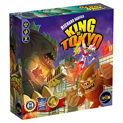 King of Tokyo Board Game - First edition: Toys & Games