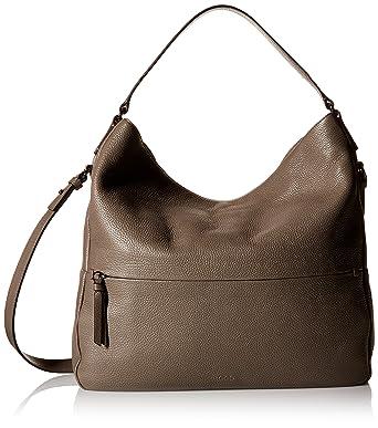 Amazon.com: ECCO SP Soft Hobo Convertible Shoulder Bag, Moonrock ...