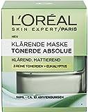 L'Oréal Paris Tonerde Absolue Klärende Maske, 1er Pack (1 x 50 ml)