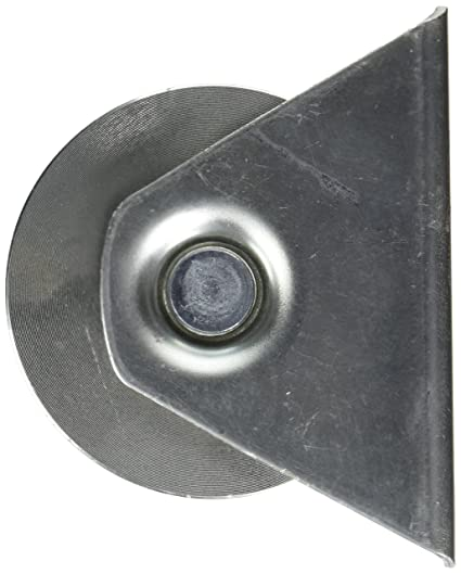 ALEKO U-groove puerta rueda para puertas de garaje correderas 10,16 cm para