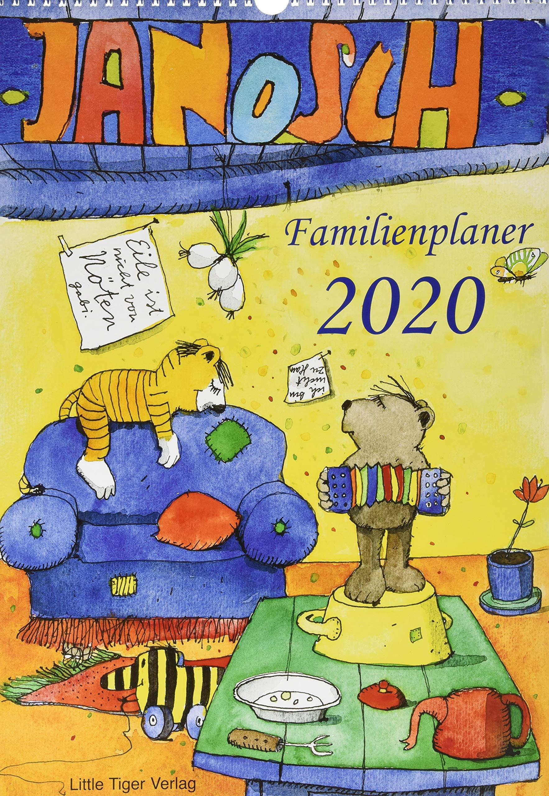 Janosch Familienplaner 2020