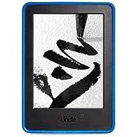 NuPro - Custodia protettiva con grip per Kindle (7ª generazione - modello 2014), Blu
