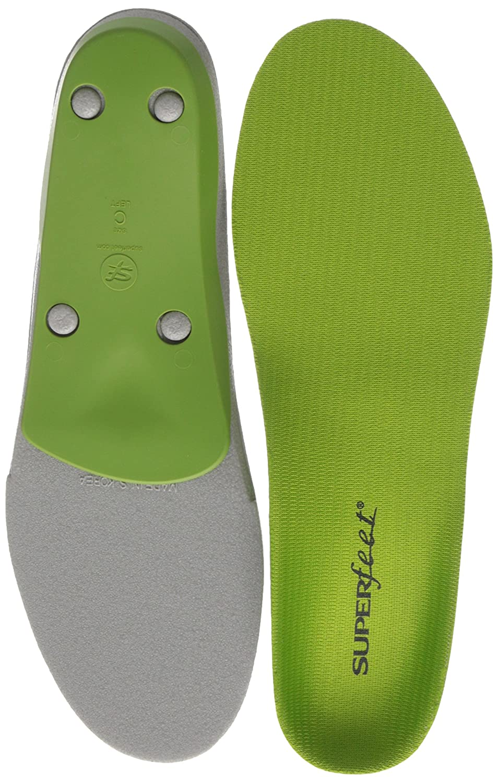 Semelle Mixte Superfeet Green