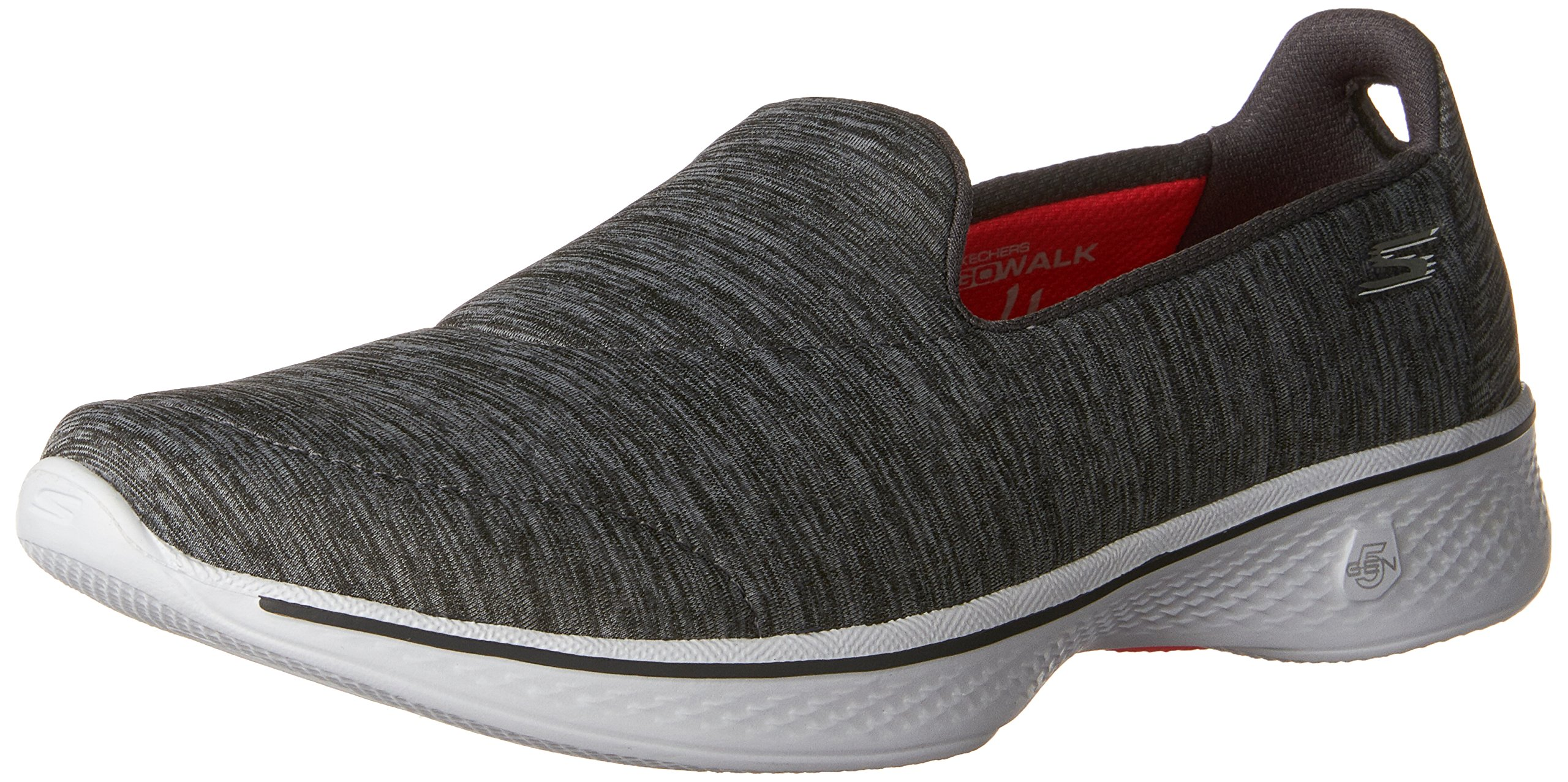 Skechers Performance Womens Go Walk 4 Achiever Walking Shoe Grey/White 6.5M  product image