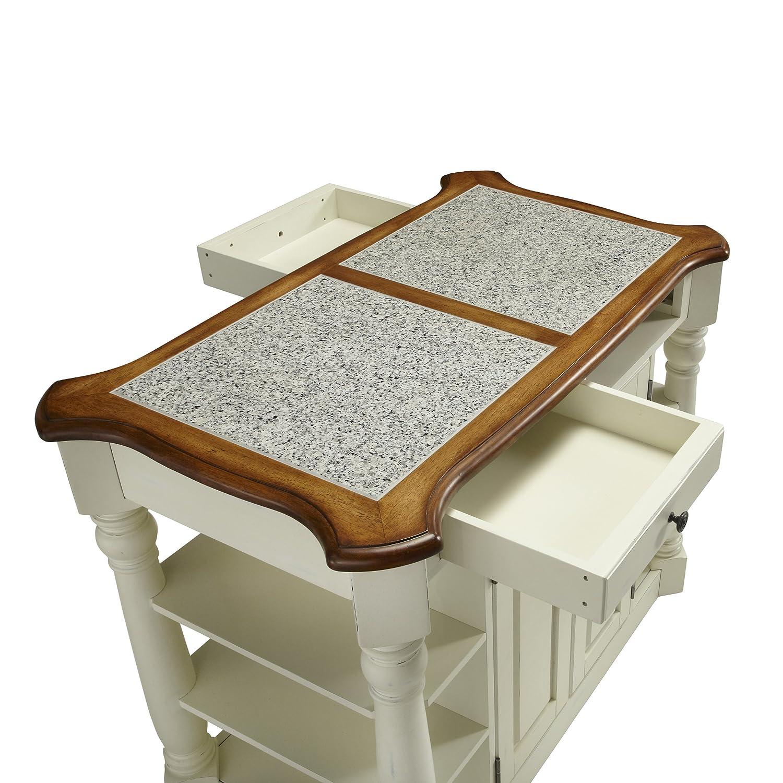 Amazoncom americana home decor - Amazon Com Home Styles 5090 94 Americana Granite Kitchen Island Kitchen Islands Carts