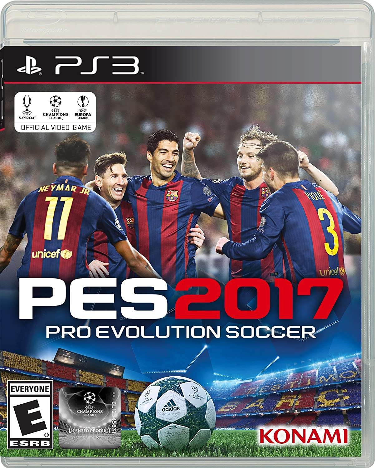 Amazon com: Pro Evolution Soccer 2017 - Xbox One Standard Edition