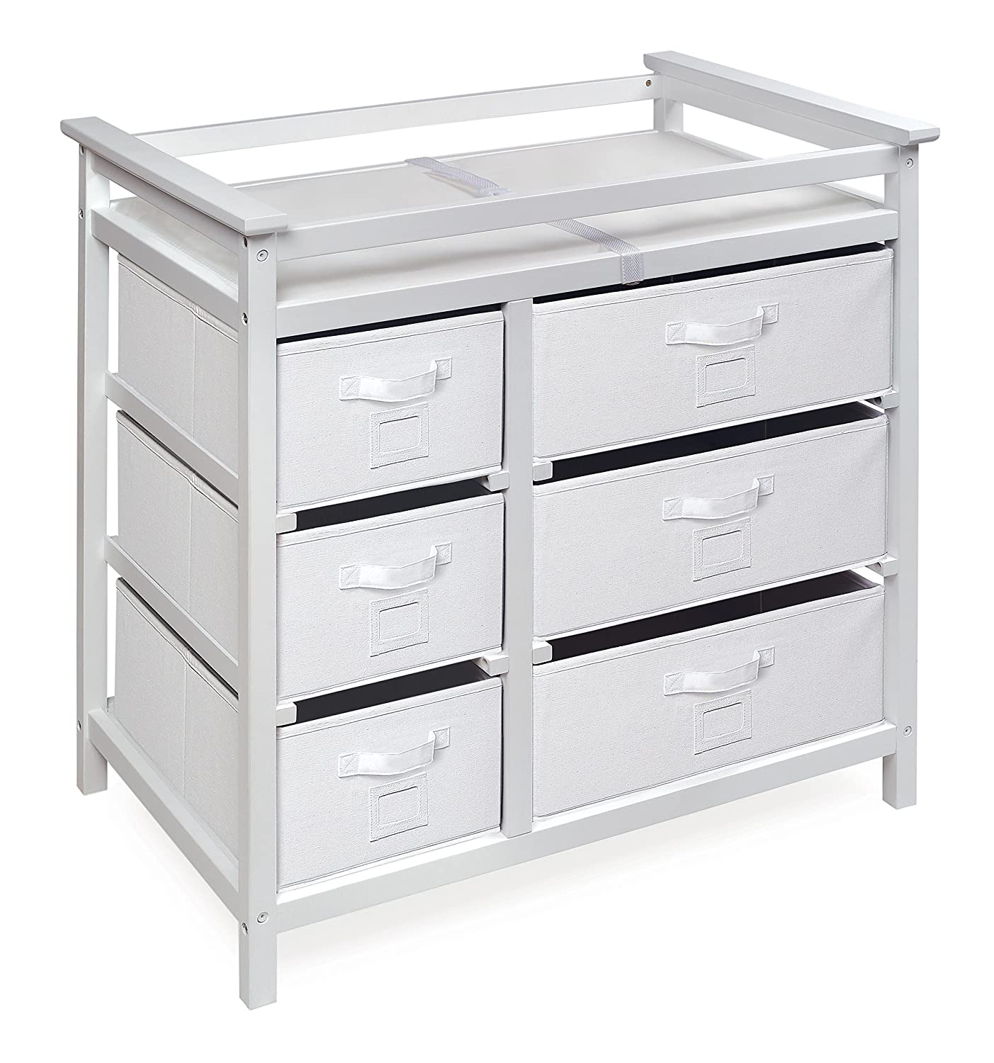 Modern Baby Changing Table with Laundry ...