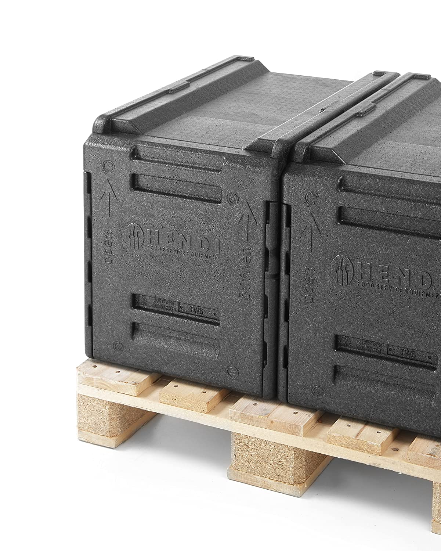 HENDI Caja isotérmica para catering - 66 L - 600x400x(H)490 mm: Amazon.es: Industria, empresas y ciencia