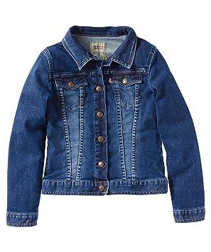 bieten eine große Auswahl an besondere Auswahl an günstig Levi's® Mädchen Jeansjacke Bree - Blue - 164: Amazon.de ...