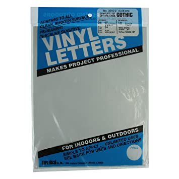 duro decal permanent adhesive vinyl letters
