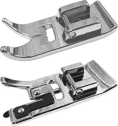 ZickZackNaehmaschine Zig Zag prensatelas del pie (estándar) y overlockfuß para Silvercrest Máquinas de Coser: Amazon ...