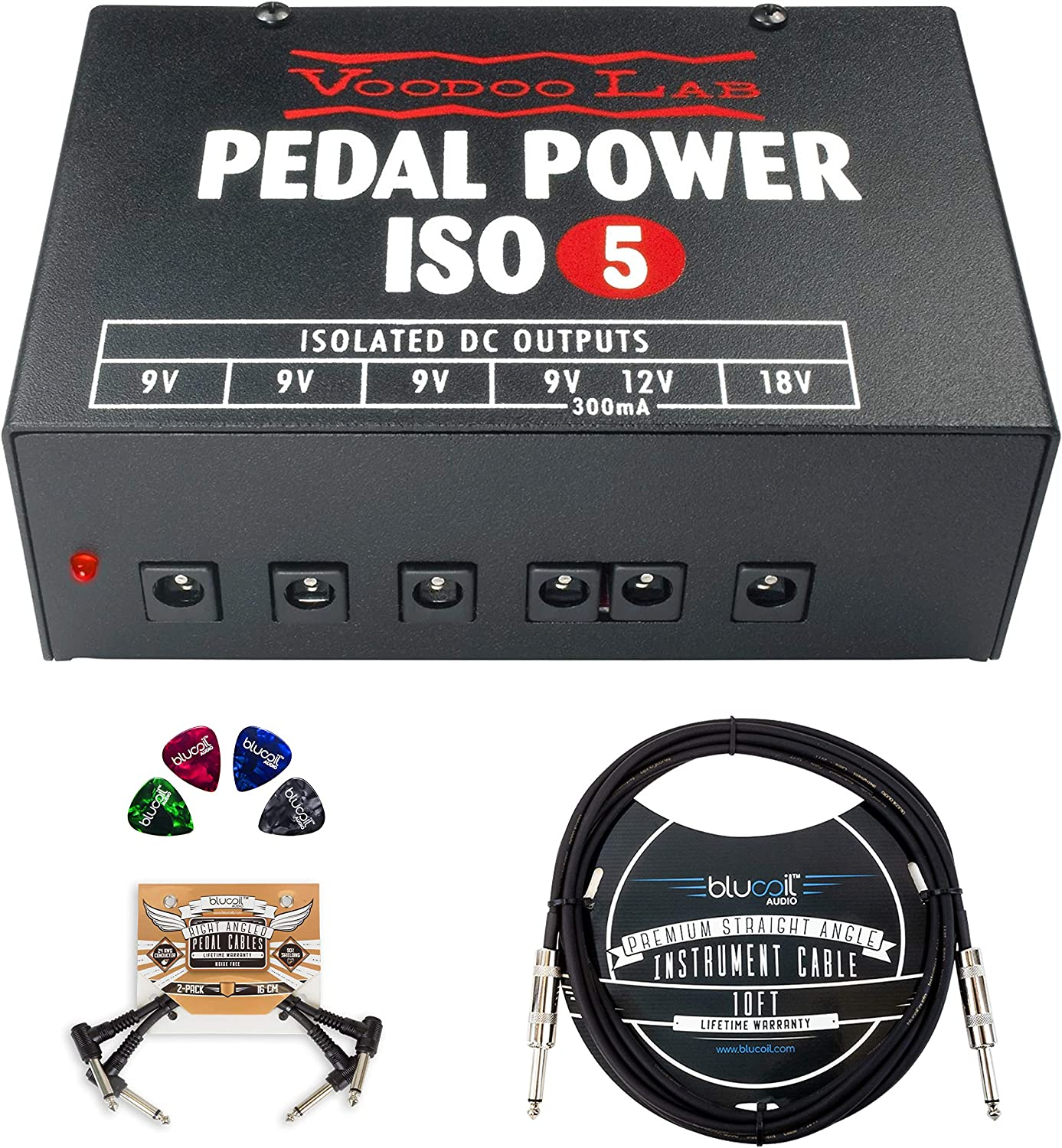 alpha-ene.co.jp Voodoo Lab Pedal Power ISO-5 Isolated Power Supply ...
