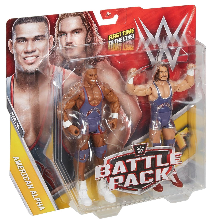 Amazon.com: WWE Jason Jordan and Chad Gable (American Alpha) Action ...