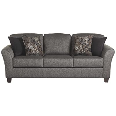 Serta Upholstery 4600S 4600S01 Transitional Style Sofa, Stoked Ashes