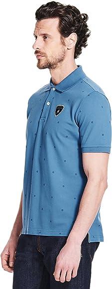 Automobili Lamborghini - Polo - para niño azul azul claro M ...